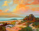 SOLD Evening Dunes II 48x60 o/c